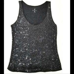 NWT New York & Co Sequin Tank